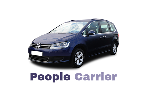 People carrier rental in Birmingham